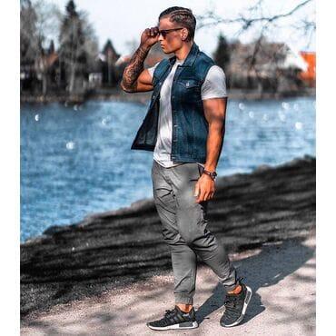 Мужские рубашки Solid