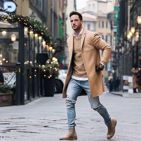 Пальта мужские