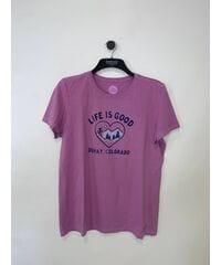 Женские футболки Life is Good и 47 brand Лот 31 15