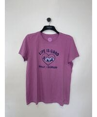 Женские футболки Life is Good и 47 brand Лот 31 13