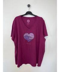 Женские футболки Life is Good и 47 brand Лот 32 24