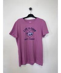 Женские футболки Life is Good и 47 brand Лот 32 30